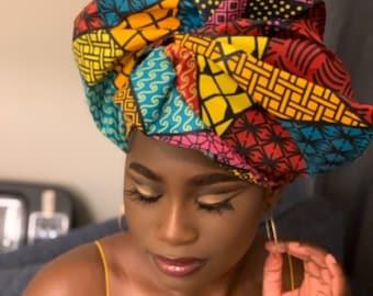 African Print Headwrap , Ankara headwraps, African print  head pieace  and scarfs, african print accessories