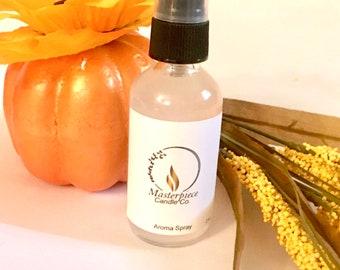 Fall Collection 2 oz Aroma Spray for Home, Linen, Car