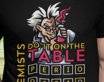 Chemistry Lab Super Powers Scientist Gift Funny T-Shirt Crazy Mad Scientist Super Friend Hero Villain Green Chems