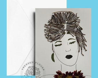 Note Cards -Original Art Printed on Linen Card Stock, Sets -4,6,8 - All Occasion Card, Gift Card
