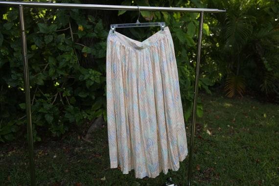 Pastel Moment Pleated Skirt