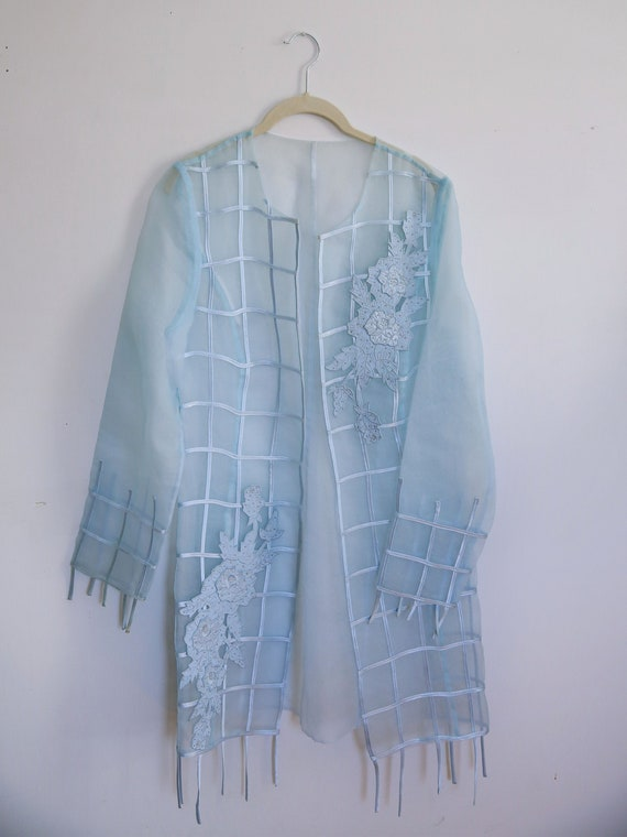 Cotton Candy Vintage Sheer Jacket