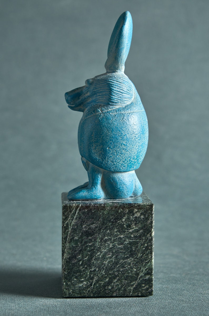 Ancient Egyptian god Thoth in the image of a baboon