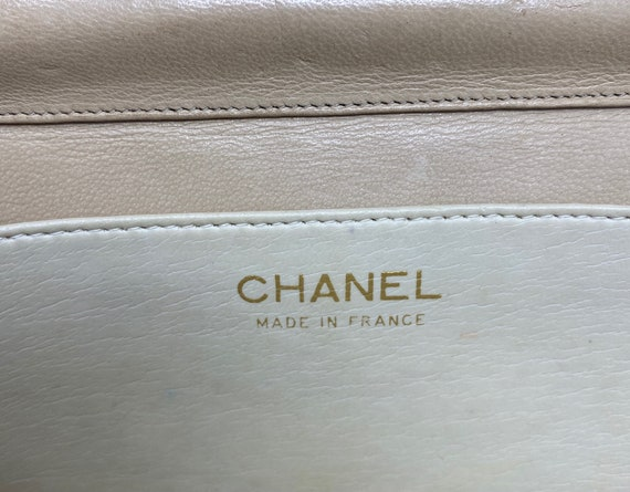 Chanel beige bag, with authenticity certificate, … - image 4