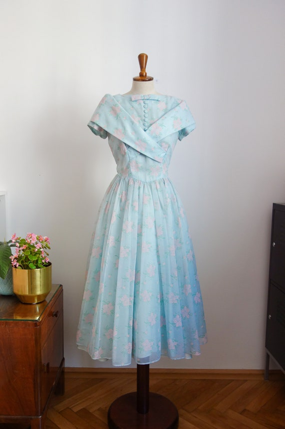 50s promdress, cocktail dress, dress for prom