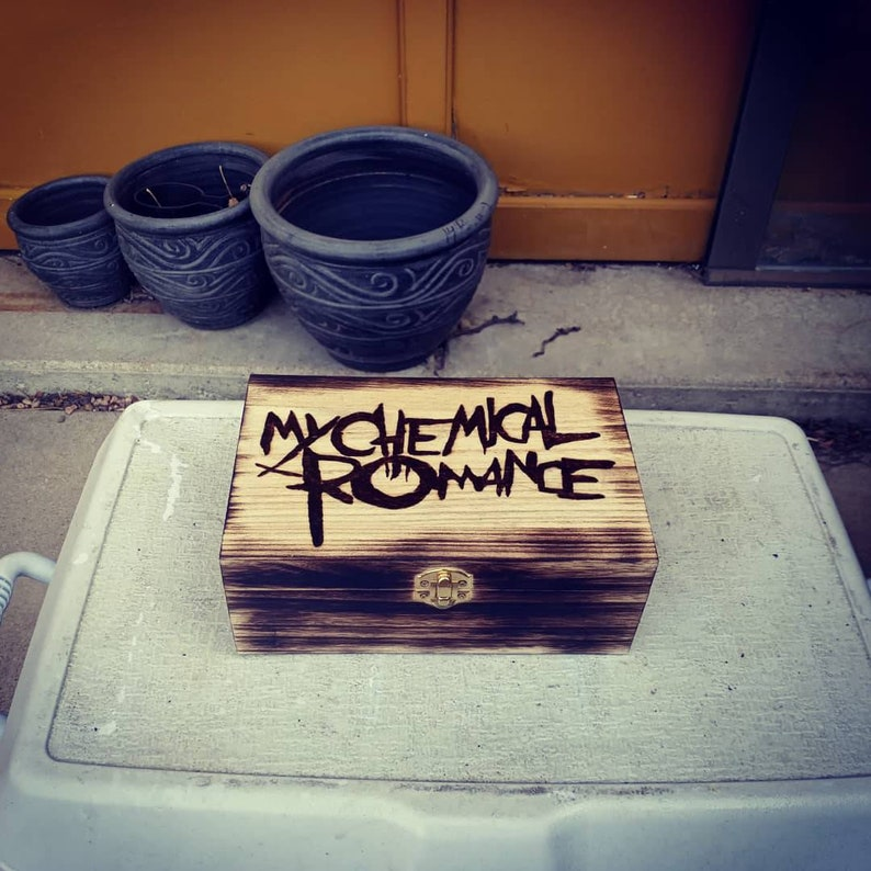 My chemical romance jewelryboxtrinket box
