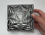 TLE70-CC, paper tile, DIY Paper craft, Bastelbogen, PDF template, pepakura kit, digital download file