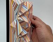 TLE2001-CLN2, paper tile, DIY Paper craft, Bastelbogen, PDF template, pepakura kit, digital download file