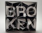 TLE70BRKN, paper tile, DIY Paper craft, Bastelbogen, PDF template, pepakura kit, digital download file