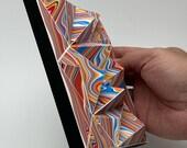 TLE2001-CLN3, paper tile, DIY Paper craft, Bastelbogen, PDF template, pepakura kit, digital download file
