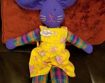 Jessica Jackrabbit Ragtime Pals Pattern with Pre Cut Wood body and ears