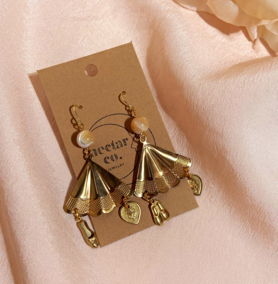 marbled ballet dangles • angel of music collection