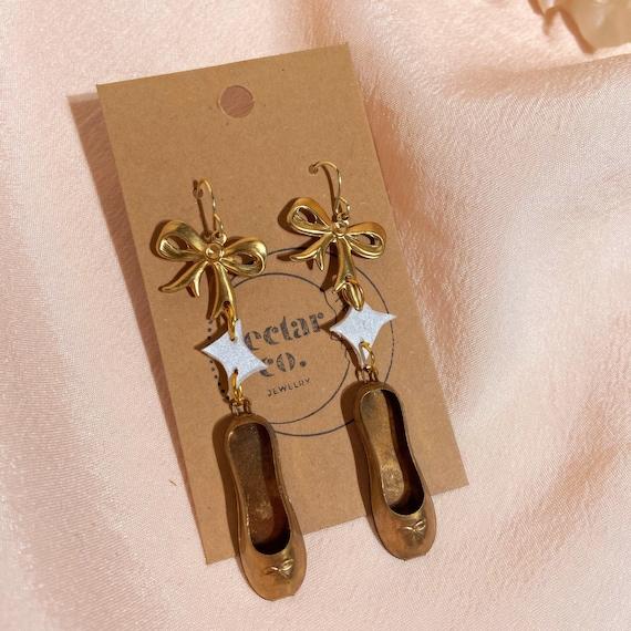 ballerina slipper dangles • angel of music collection
