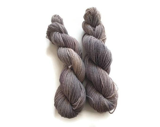 Plant Dyed Organic Sock Yarn 100g Strand Finkho -Pastel Shades of Lilac-