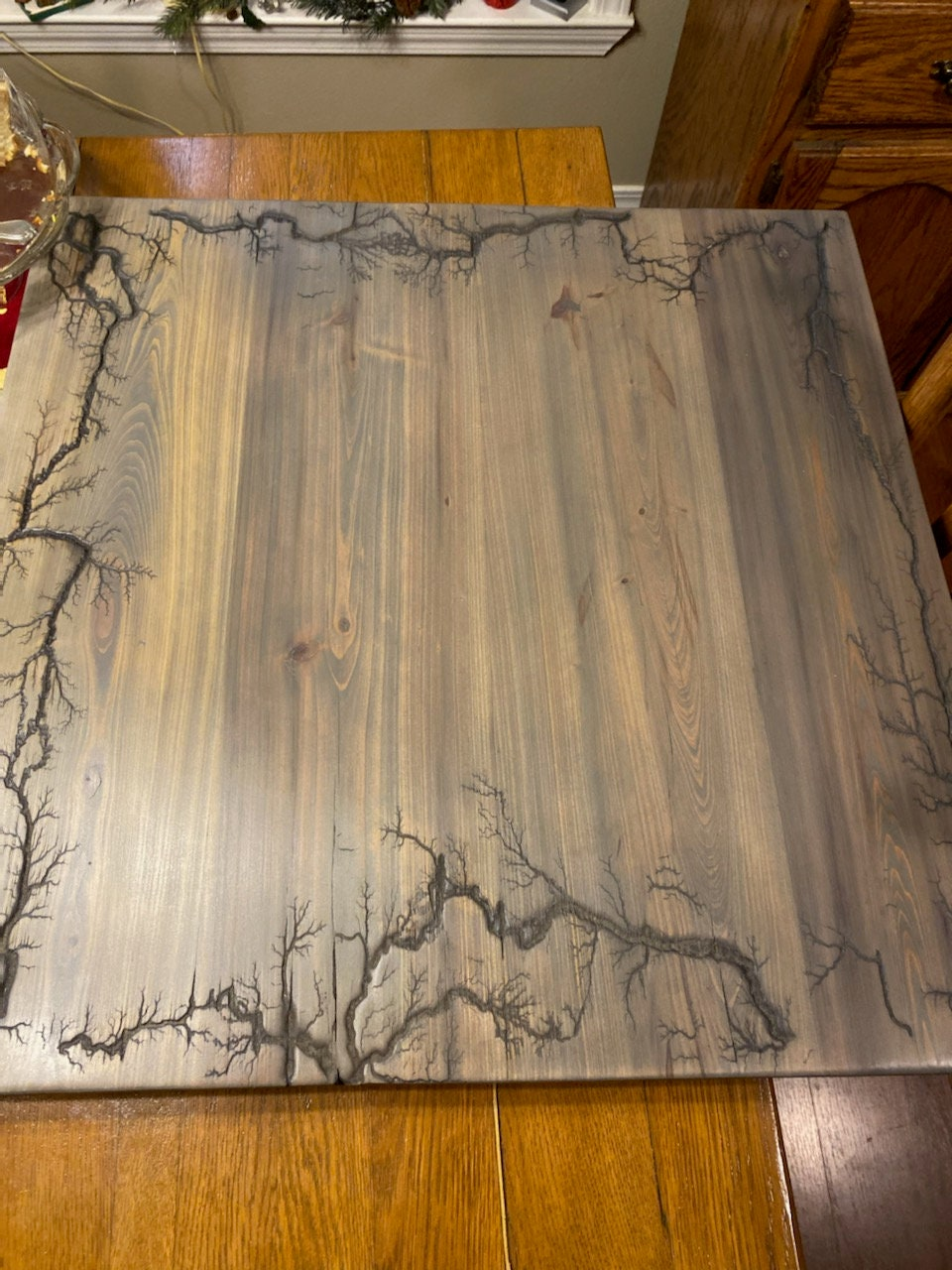 Electrocuted Coffee Table Cypress, used for sale