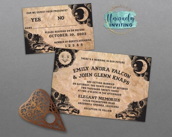 Ouija Board Invitations
