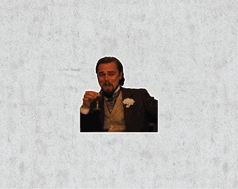 Laughing Man Meme Sticker
