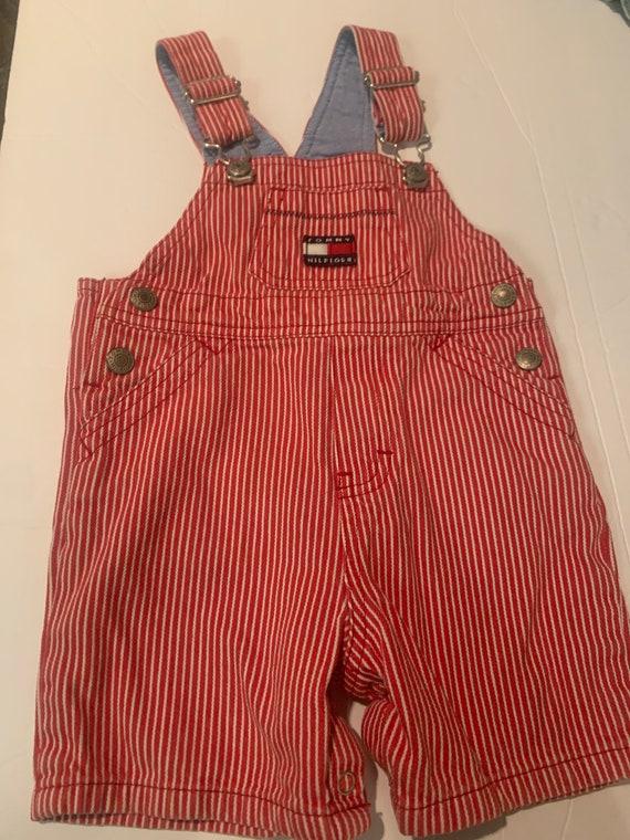 Vintage Toddler Tommy Hilfiger overalls