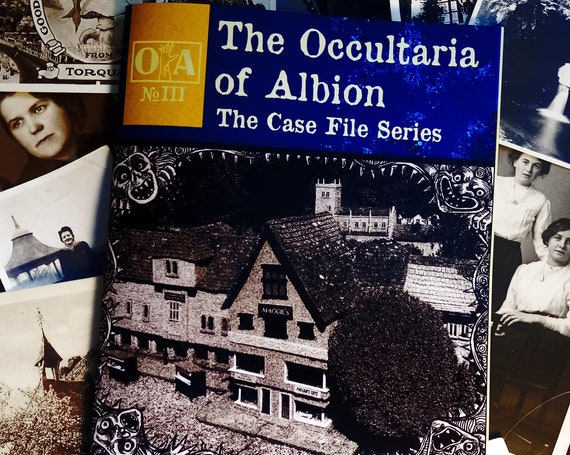 The Occultaria of Albion Vol 3 - An Investigative Zine Into The Casefiles of The Isle of Drumgunnan