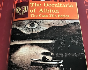 The Occultaria of Albion Vol 2 - An Investigative Zine Into The Casefiles of Thackford on Yap