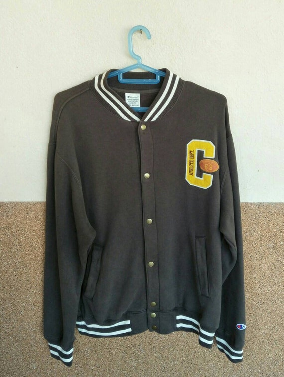 Vintage Champion 90's Athletic Dept Rugby Sport Em