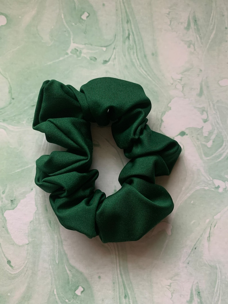 Scrunchies for Girls Scrunchies Patterned Scrunchies Hair Ties Hair Accessories Green Hair Scrunchie O Christmas Tree Hair Scrunchie