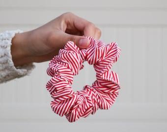 Candy Cane Scrunchie