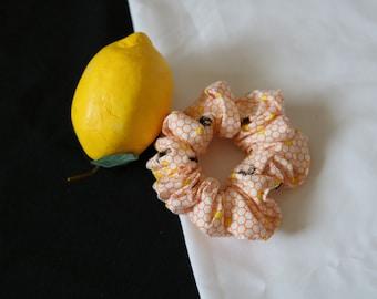 Bee Cotton Scrunchie