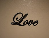 Love - Wooden Sign