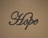 Hope - Wooden Sign