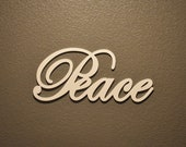 Peace - Wooden Sign