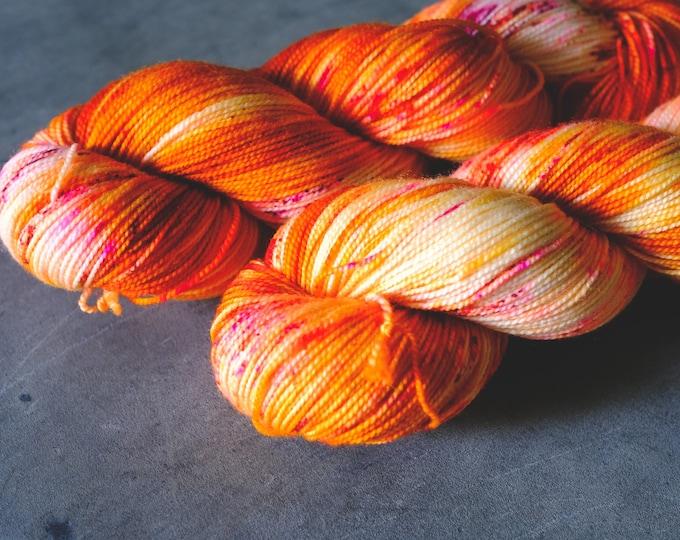 Huo Ji - Two-Ply Sock - Fingering Weight - 100% Superwash Merino Wool - 400 Yards - Hand-dyed Yarn