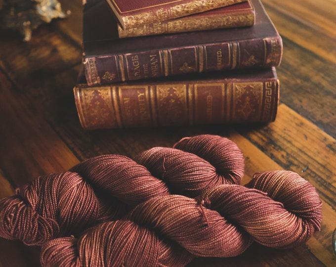 Leatherbound - Two-Ply Sock - 100% Superwash Merino Wool - Sock Weight - 400 Yards - Hand-Dyed Yarn