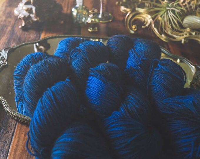 Out of the Deep - Two-Ply Sock - 100% Superwash Merino Wool - Sock Weight - 400 Yards - Hand-Dyed Yarn