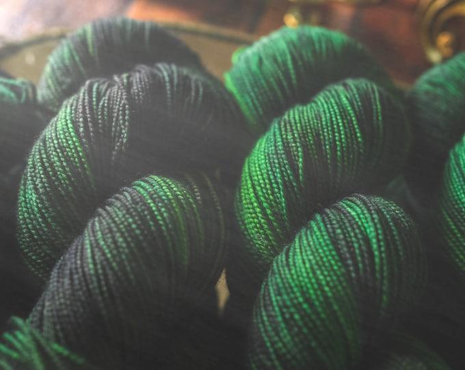 Sea Witch - Two-Ply Sock - 100% Superwash Merino Wool - Sock Weight - 400 Yards - Hand-Dyed Yarn
