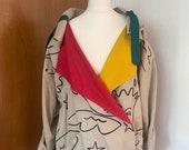 VINTAGE 1970's jacket by french couturier J-C de Castelbajac