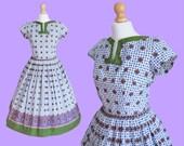VINTAGE authentic 1950's circle dress