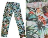 VINTAGE 80's / 90's Tropical Pants - S/M