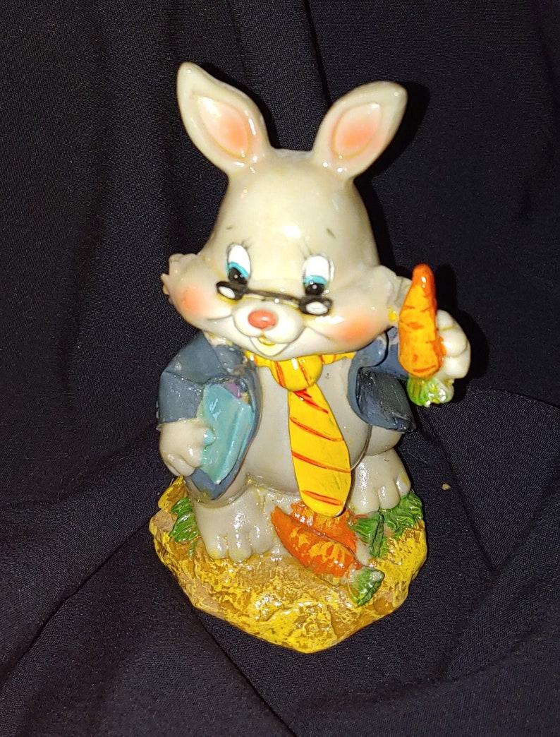 5 Paper Mache Professor Rabbit used