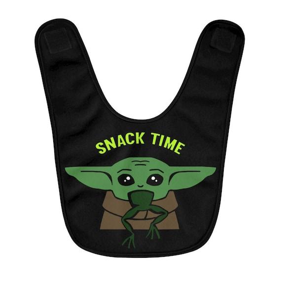 Baby Yoda baby bib