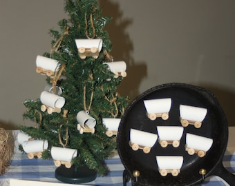 Covered Wagon Christmas Ornament, Little House on the Prairie