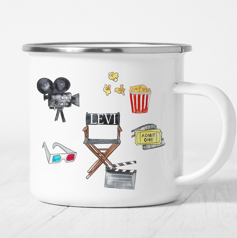Personalized Movie Birthday Party Favors Personalized Movie Party Favors Personalized Movie Mug Personalized Gift