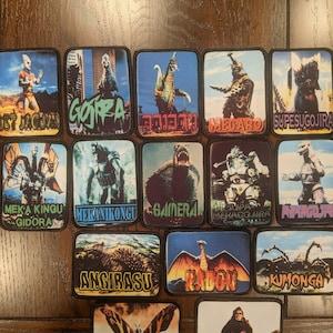 Godzilla Pin Kaiju Snacks Series King Ghidorah Takoyaki