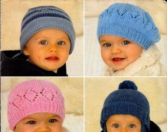 Hats CROCHET PATTERN Sun Hat Crochet Pixie Hat Crochet Helmet Newborn 6 years dk Girls Boys  Baby Crochet Patterns PDF instant download
