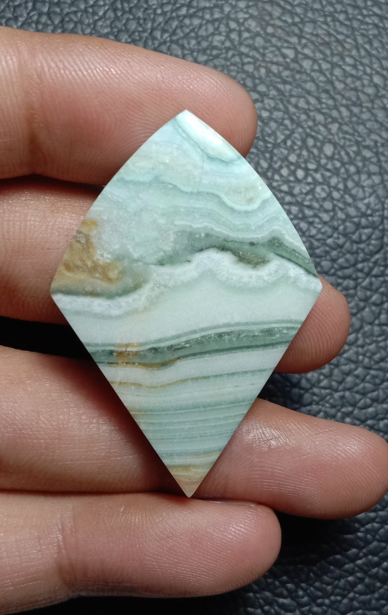 Banded Calcite Cabochon  Loos Gemstone Best For Jewellery..