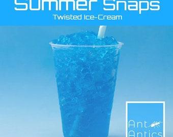 Blue Raspberry Slushy Snaps - Sugar Snaps - Ant Antics - Ant Sugar Feed