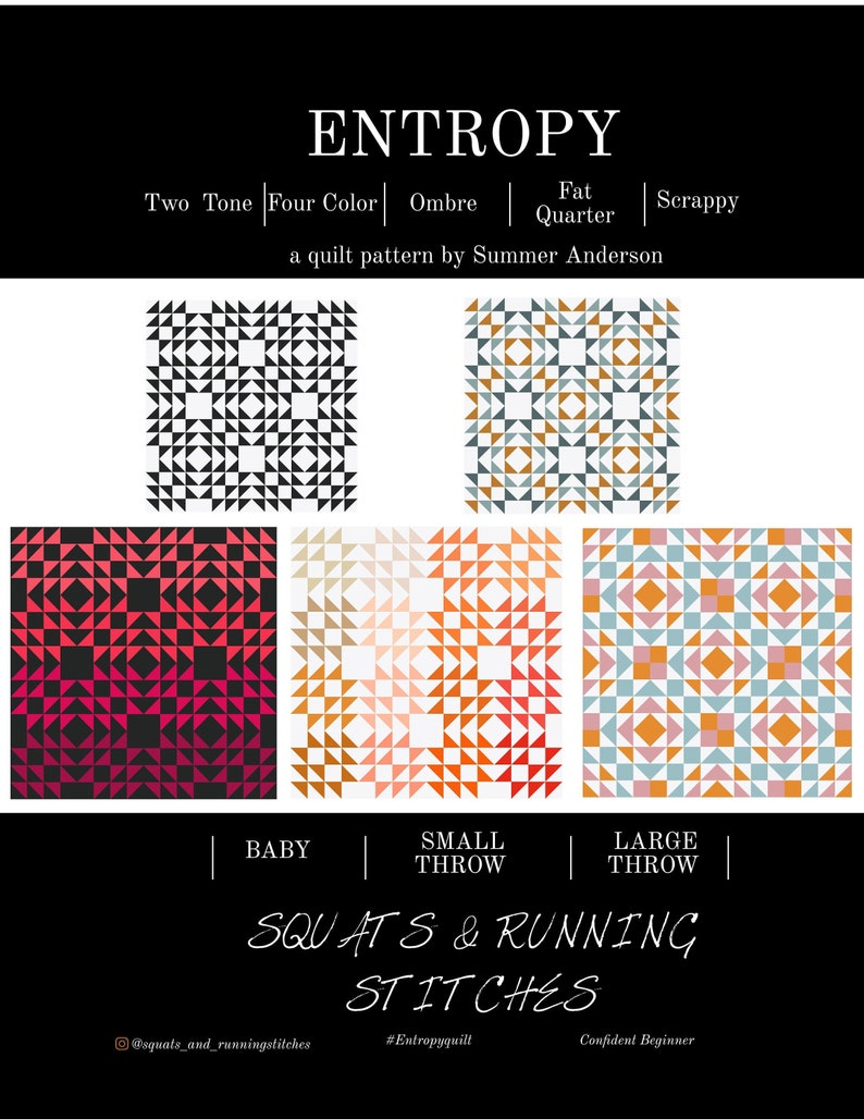 Entropy Quilt Pattern PDF image 0