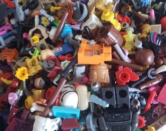 50 Brand NEW Random Pieces Per Order LEGO Accessories Utensils