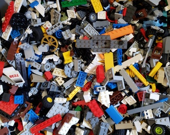 Huge Bulk Lot LEGO® Bricks & Accessories 4 lbs.