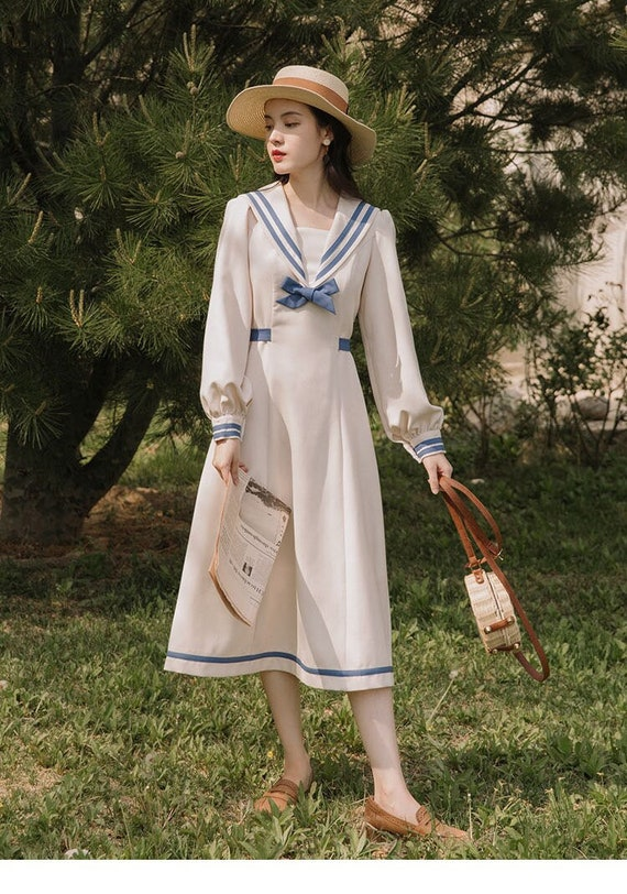 Sailor Vintage Dress | Japan Vintage Dress | Fairy